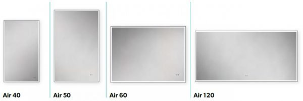 air hib mirror sizes