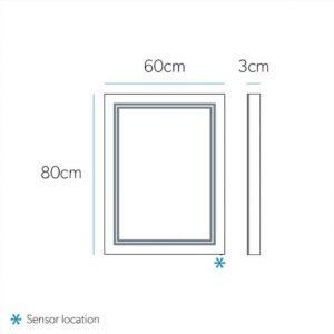 outline hib mirror sizes