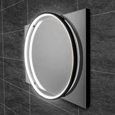 solace round mirror chrome 60