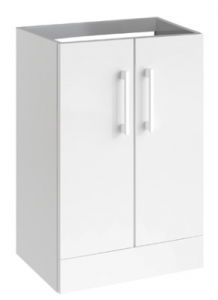 white hib tempt vanity unit